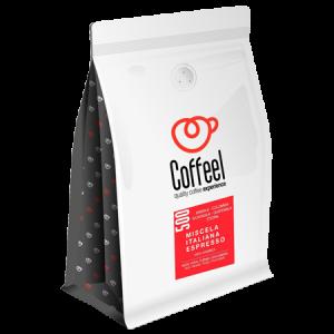 Coffel caffe espresso in grani miscela 500 - Claudia Michelin Lausarot