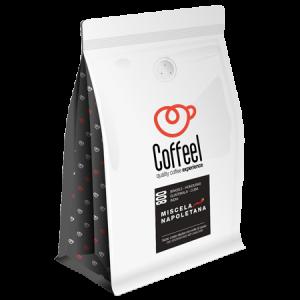 Coffel caffe espresso in grani miscela napoletana 800 500gr 893183 claudia Michelin Lausarot