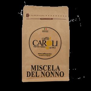 Caffè Caroli Miscela del Nonno (front) PNG