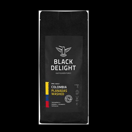 black delight Colombia Planadas Washed Decaf