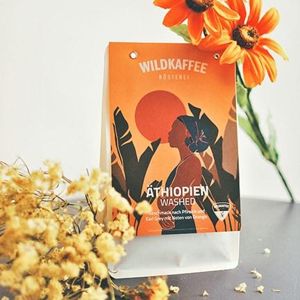 Wildkaffee Äthiopien Washed - Filterkaffee Alternativbild