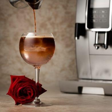 Flower Coffee Spritz