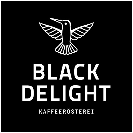 Black Delight Kaffeerösterei Logo