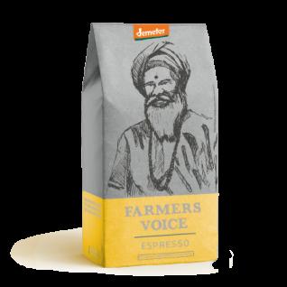 Wildkaffee Farmers Voice - Espresso Indien Demeter